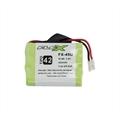 Bateria para Telefone s/Fio Ni-Mh 3,6V 450mah 3 Celulas 4/5 AAA TP42
