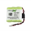 Bateria para Telefone s/Fio Ni-Mh 3,6V 300mah 3 Celulas 2/3 AAA TP73