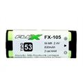 Bateria para Telefone Sem Fio Ni-Mh 2,4V 830 Mah 2 Celulas AAA (HHR) TP53