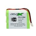 Bateria para Telefone Sem Fio Ni-CD 3,6V 600Mah 3 Celulas AA TP39