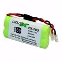 Bateria para Telefone Sem Fio NI-Mh 2,4V 600Mah 2 Celulas AAA TP69