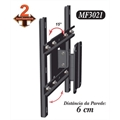 Suporte TV 3D LED LCD PLASMA  2 movimentos MF3021 -CPL